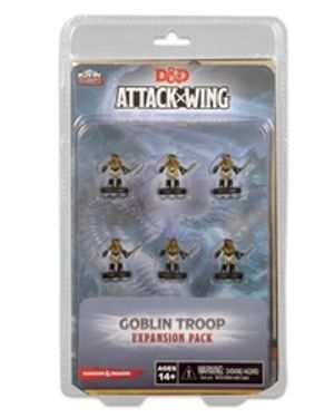 D&D MINIATURES -  GOBLIN TROOP EXPANSION PACK -  D&D ATTACK WING MINIATURES GAME