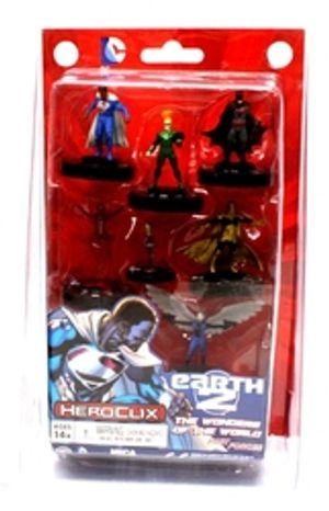DC COMICS -  DC HEROCLIX : EARTH 2, THE WONDERS OF THE WORLD (ENGLISH) -  DC HEROCLIX