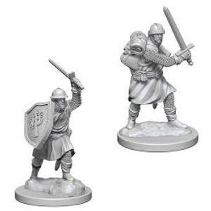 PATHFINDER MINIATURES -  INFANTRYMEN (2) -  DEEP CUTS