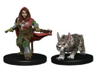 WARDLINGS -  GIRL RANGER WITH LYNX