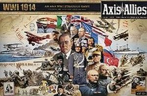 AXIS & ALLIES -  AXIS & ALLIES WWI 1914