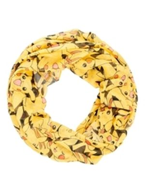 POKEMON -  PIKACHU SCARF - YELLOW