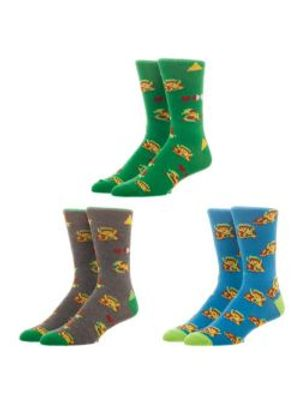 LEGEND OF ZELDA, THE -  3 PAIRS SOCKS