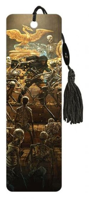 DUNGEONS AND DRAGONS -  SKELETONS - BOOKMARK