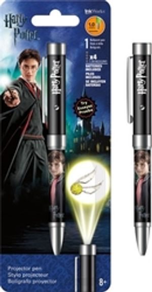 HARRY POTTER -  GOLDEN SNITCH - PROJECTOR PEN