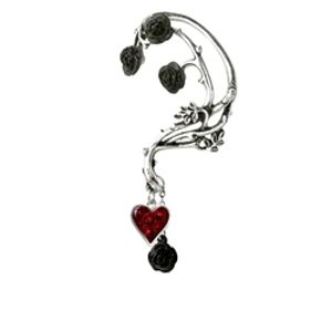 ALCHEMY GOTHIC -  ORNEMENT D'OREILLE - BED OF BLOOD ROSES