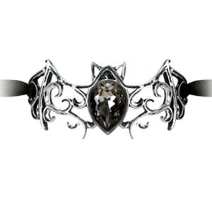 ALCHEMY GOTHIC -  VIENNESE NIGHT RIBBON BRACELET