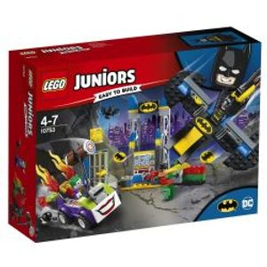 JUNIORS -  THE JOKER BATCAVE ATTACK (151 PIECES) 10753