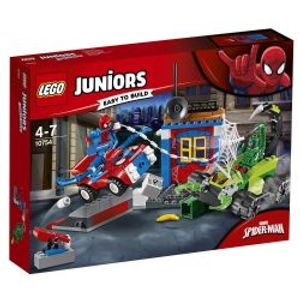 JUNIORS -  SPIDER-MAN VS. SCORPION STREET SHOWDOWN (125 PIECES) 10754