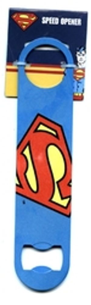 SUPERMAN -  LOGO METAL BOTTLE OPENER