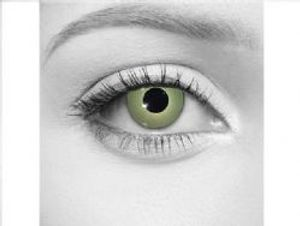 THEATRICAL CONTACT LENSES -  WITCH - GREEN (90 DAYS)