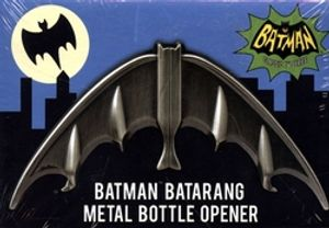 BATMAN -  1966 BATMAN  BATARANG METAL BOTTLE OPENER