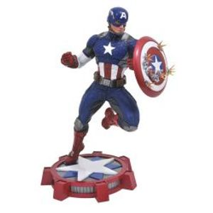 CAPTAIN AMERICA -  CAPTAIN AMERICA STATUE (9INCHES) -  Marvel Gallery MARVEL NOW!