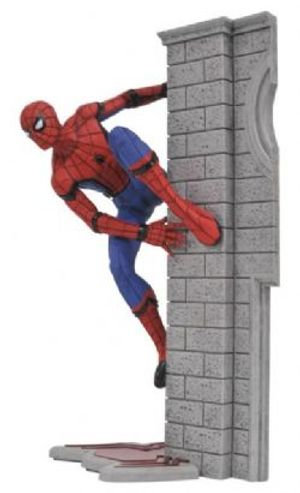 SPIDER-MAN -  SPIDER-MAN PVC STATUE (10INCHES) -  Marvel Gallery HOMECOMING