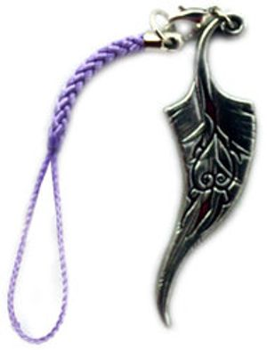 TSUBASA RESERVOIR CHRONICLE -  SAKURA'S FEATHER CELL PHONE STRAP