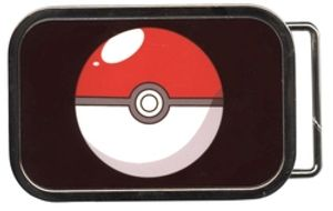 POKEMON -  BELT BUCKLE POKEBALL
