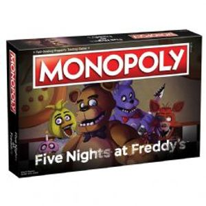 MONOPOLY -  FIVE NIGHTS AT FREDDY (ANGLAIS)