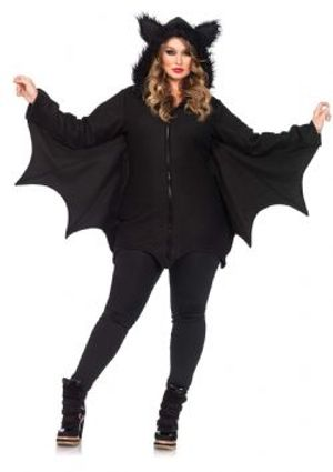 ANIMALS -  COZY BAT COSTUME (PLUS SIZE - 1X/2X)