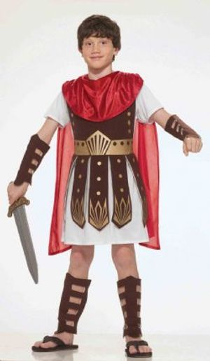 WARRIOR -  ROMAN WARRIOR COSTUME (CHILD - SMALL 4-6)