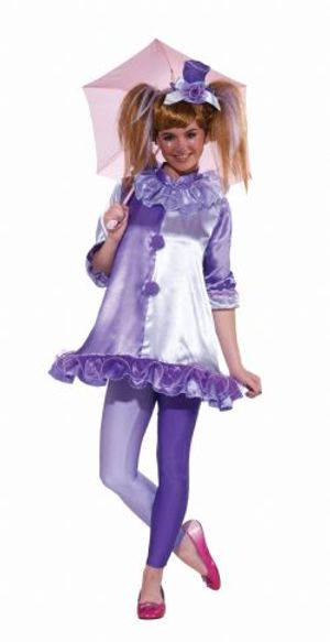 CLOWN -  VIOLET THE CLOWN COSTUME (TEEN - ONE-SIZE)