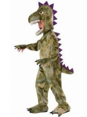 DINOSAUR -  PLUSH DINOSAUR COSTUME (CHILD - SMALL)
