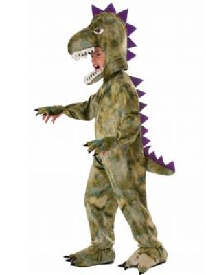 DINOSAUR -  PLUSH DINOSAUR COSTUME (CHILD - MEDIUM)