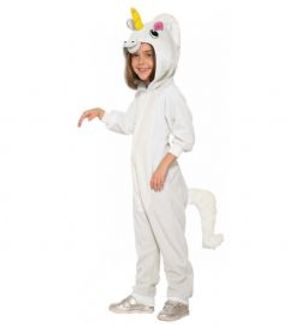 ANIMALS -  WHITE UNICORN COSTUME (CHILD - LARGE)