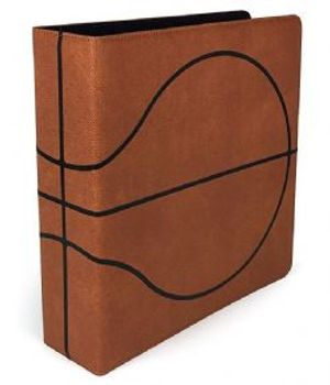 ULTRA PRO -  CARTABLE DE BASKETBALL 7.5 CM BRUN (TEXTURE DE BALLON)