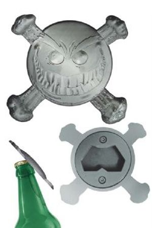 SMILEY -  SMILEY PSYCHOTIC BUTTON BOTTLE OPENER