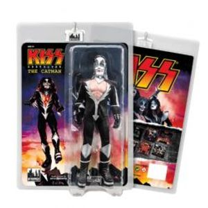 KISS -  FIGURINE ARTICULÉE THE CATMAN (20CM) -  KISS DESTROYER SERIES 2