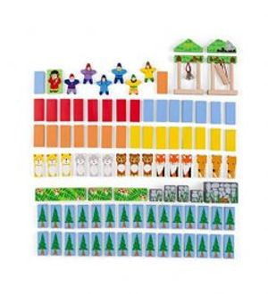 DOMINOES -  FOREST FRIENDS DOMINO SET (ENGLISH)