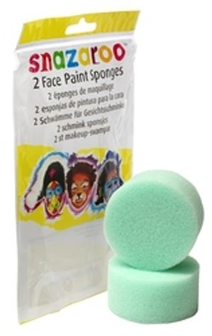 SPONGE -  2 WATER FACE PAINTING SPONGES