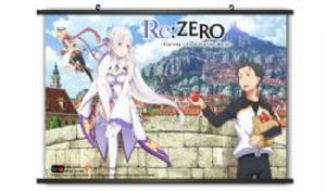 RE:ZERO -  -GROUPE 05- (116.8CM X 81.2CM) -  RE: STARTING LIFE IN ANOTHER WOLD