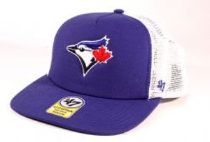 BLUE JAYS DE TORONTO -  CASQUETTE AJUSTABLE EN FILET BLEU (ENFANT)