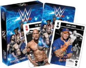 WWE -  PLAYING CARDS -  WWE SUPERSTARS
