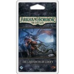 ARKHAM HORROR : THE CARD GAME -  THE LABYRINTHS OF LUNACY - SCENARIO PACK (ANGLAIS)