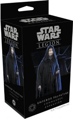 STAR WARS : LEGION -  PREORDER - EMPEROR PALPATINE (ENGLISH)