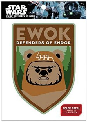 STAR WARS -  EWOK DEFENDERS OF ENDOR DECAL