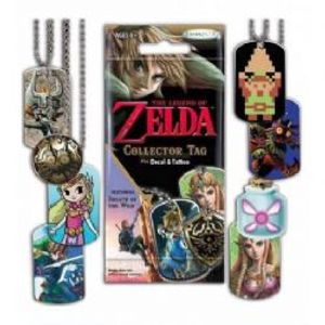 LEGEND OF ZELDA, THE -  MYSTERY DOG TAG