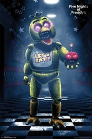 FIVE NIGHTS AT FREDDY'S -  FIVE NIGHTS AT FREDDY'S - CLASSIC CHICA POSTER (22