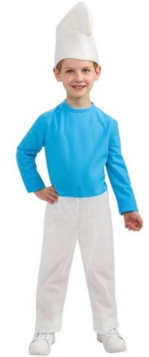 SMURFS -  SMURFS COSTUME (CHILD - SMALL 4-6) -  SMURFS : THE LOST VILLAGE
