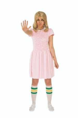 STRANGER THINGS -  ELEVEN COSTUME (ADULT - ONE SIZE)