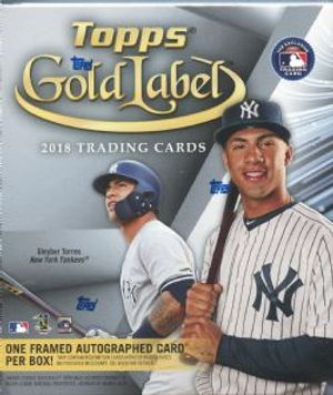 2018 BASEBALL -  TOPPS GOLD LABEL (33 CARTES)