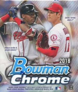 2018 BASEBALL -  BOWMAN CHROME (P6/B2)
