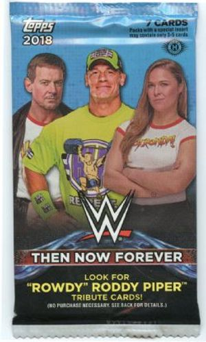 2018 WWE -  TOPPS THEN NOW FOREVER (P7/B24)