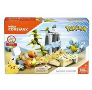 MEGA CONSTRUX -  SQUIRTLE VS. CHARMANDER -  POKEMON 31045