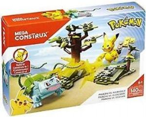 MEGA CONSTRUX -  PIKACHU VS.BULBASAUR -  POKEMON 31045