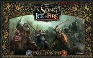 A SONG OF ICE AND FIRE -  STARK VS LANNISTER - STARTER SET (ENGLISH)