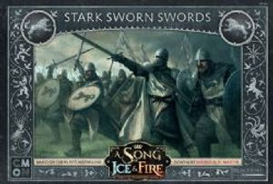 A SONG OF ICE AND FIRE -  STARK SWORN SWORDS (ENGLISH)
