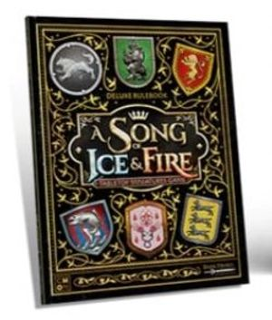 A SONG OF ICE AND FIRE -  DELUXE RULEBOOK (ENGLISH) -  KICKSTARTER EXCLUSIVE